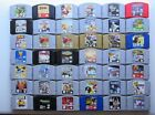 HUGE SELECTION! *OKAY* (Q-Z) Nintendo 64 N64 Games Authentic Tested Zelda Mario