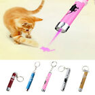 Fashion 2 In1 Red LED Light Animation Laser Pointer Pen Childrens Cat Toy 5Color