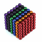 2018 3mm/5mm 216pcs Magnet Balls Magic Beads 3D Puzzle Ball Sphere Magnetic Cube