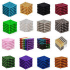 Внешний вид - 2018 3mm/5mm 216pcs Magnet Balls Magic Beads 3D Puzzle Ball Sphere Magnetic Cube