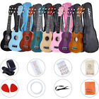 ADM Ukulele Soprano 21 Inch Student Start Pack with Gig bag, Teaching CD, Tuner