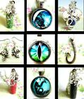 DRAGON EARRINGS CHARM NECKLACE KEYRING EYE SCALES WALES