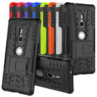 """For Sony Xperia XZ2 5.7"""" Case Shockproof Hybrid Armor Kickstand Protective Cover"""