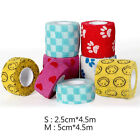 Pet Horse Dog Cat Non Woven Vet Wound Cohesive Bandage Self Adherent Wrap Tape