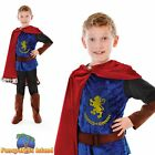 KIDS MEDIEVAL KNIGHT FANTASY PRINCE - Age 5-10 - Boys Childs Fancy Dress Costume