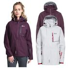 DLX Gita II Womens DLX Waterproof Softshell Jacket in Purple & White