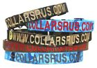 Personalized Webbing Collars-TEXT ONLY - CollarsUSA.com, 24 HOUR SHIP