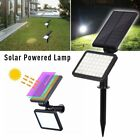 1/2Pack 48LED Solar Power Spotlight Garden Lawn Lamp Landscape Lights Waterproof