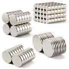 100Pc Super Strong Round Disc Magnets Rare-Earth Neodymium Cylinder Magnet Kit