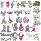 34Styles Christmas Theme Cutting Dies Stencil Scrapbook Paper Card Embossing DIY