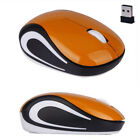 Cute Mini Mouse Mat 2.4 GHz Wireless Slim Optical Mouse For PC Laptop Notebook