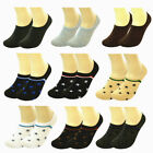 Unisex One Size Athletic Anti Slip Boat Liner Cotton No Shows Loafer Socks