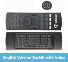 Full Touchpad Air Mouse Mini Wireless Keyboard Large Remote Control