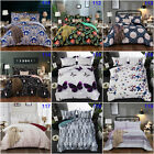 Paisley Doona Quilt Duvet Cover Set Queen King Double Size Bed Animal Butterfly
