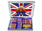 SERVICES / ARMY THEMED SUPER DAD PERSONALISED CHOCOLATE or SWEETS GIFT HAMPER
