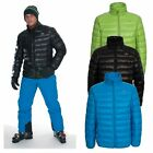 Trespass Mens Down Jacket Natural Feather Ski Winter Coat With Hood