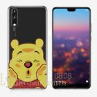 Cute Cartoon Soft Silicone Phone Case Cover For Huawei P20 Pro Lite Honor 10