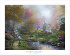 Art -  Thomas Kinkade Studios A Mother's Perfect Day 18 x 24 SN Limited Edition Paper