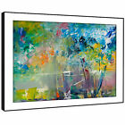 AB730 Colourful Retro Cool Modern Abstract Framed Wall Art Large Picture Prints
