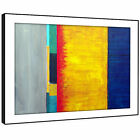 AB1456 Retro Colourful Cool Modern Abstract Framed Wall Art Large Picture Prints