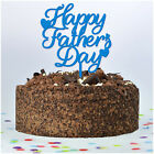Fathers Day Decoration Gift - Colour ACRYLIC CAKE TOPPERS for Dad Daddy Grandad