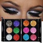 6 Colors Waterproof Eyeshadow Glitter Palette Kit Shining Metals MakeUp Shimmer