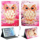 """US For 9.7 ~ 10.1"""" Tab Android Tablet Universal Pattern PU Leather Case Cover LA"""