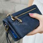 Women Ladies Leather Long Wallet Purse Card Phone Holder Clutch Handbag Bag Case