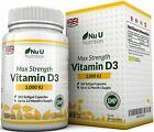 A Vitamin D3 3,000 IU 365 Softgels (Full Year Supply) Triple Strength Vitamin