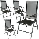 Aluminium folding garden chairs outdoor camping patio furniture