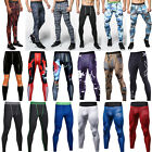 cdp layer - Men Fitness Jogger Pants Tight Compression Base Layer GYM Sport Workout Leggings