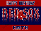 Boston Red Sox Personalized Edible Image Cake Topper Frosting Sheets 5 Sizes on Ebay