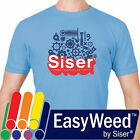 "Siser EasyWeed  HTV Heat Transfer Vinyl for T-Shirts 15"" by 12"" Sheet s"