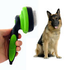 Dog Cat Self Cleaning Slicker Comb Brush Grooming Trimmer Tool Pet Supplies Well