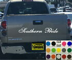 Southern Pride Tailgate Vinyl Decal Sticker 4x4 Diesel truck SUV AND