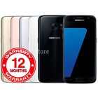 Samsung Galaxy S7 Sm-g930f - 32gb - (unlocked) Smartphone Various Colours Grades