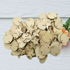 Double-Holes Button Slices Embellishments Heart Round Star Shape for Card Making