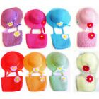 NEW CUTE LITTLE GIRL'S TEA PARTY FAVOR DRESS UP HAT AND BAG SET ALL COLORS!!