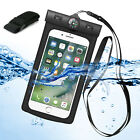 Compass Waterproof Dry Bag Underwater Armband Pouch Case Cover For Cell Phone