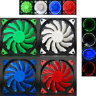 best led fans - Quiet 120mm 12V 3 4pin LED Effects Clear Computer Case Best Fan For Radiator Mod