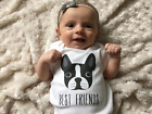 BEST FRIEND DOG Infant Baby Boys Cotton Cute Romper Playsuit Jumpsuit Overalls