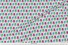Monsters Monsters + Mosquitos (crayon) Fabric Printed by Spoonflower BTY