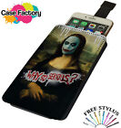 Joker Why So Serious Mona Lisa Painting - Universal Leather Phone Case Cover