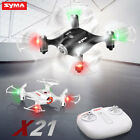 SYMA X21 Drone Quadcopter 4CH RC Aircraft Rotating Rolling 2.4G Remote Charge
