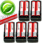 18650 Battery Charger 3.7V Rechargeable Li-ion For Flashlight Torch Batteries /