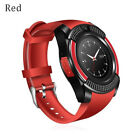 V8 Smart Watch Sport Clock With Sim Card Slot Bluetooth for iOS Android Phone D