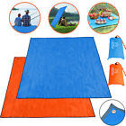 Waterproof Outdoor Large Beach Camping Blanket Sand Free Magic Picnic Mat Pad US