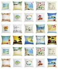 26 by 26 pillow case - Tropical Throw Pillow Cases Cushion Cover by Ambesonne Home Accent Decor 4 Sizes