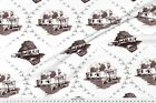 Toile Trailer Trash Mobile Fabric Printed by Spoonflower BTY
