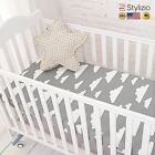 NEW Cotton Baby Fitted Sheet Cartoon Crib Mattress Protector,Baby Bed For Size13